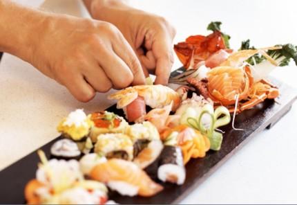 Sushi plankje